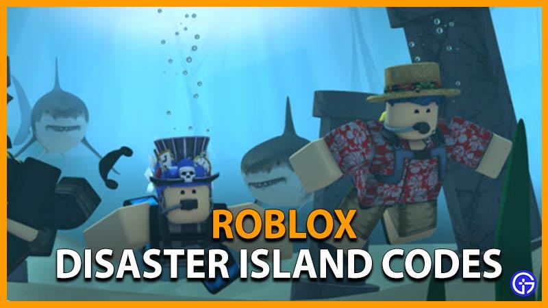 Códigos Roblox Disaster Island