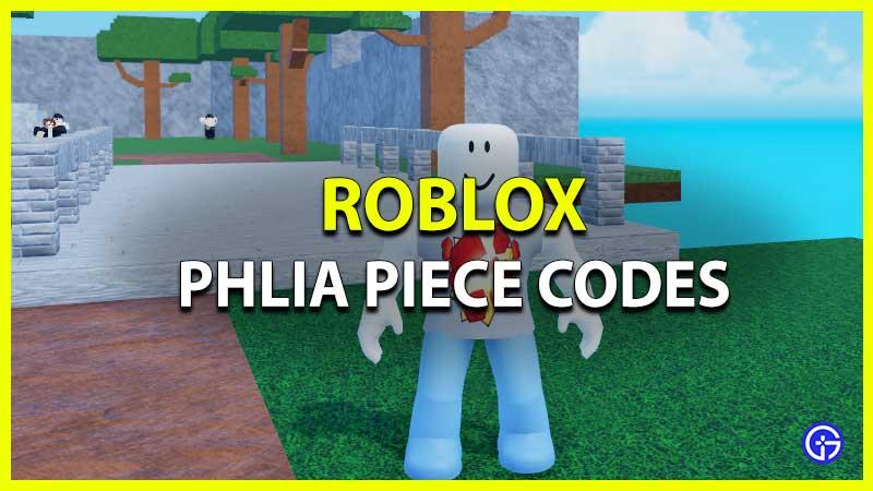 Códigos de Roblox Phlia Piece