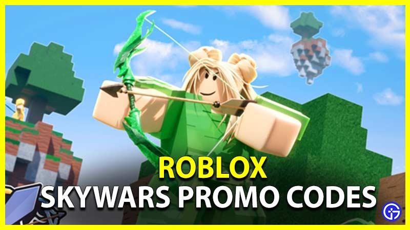 Los códigos de promoción de Roblox Skywars funcionan