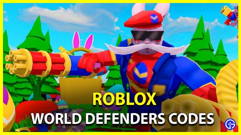 Códigos de Roblox World Defenders