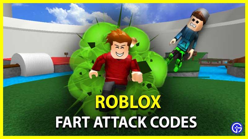 Códigos de ataque de pedos de Roblox