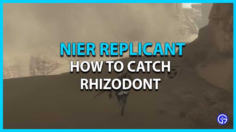 Ubicación de Rhizodont replicante de Nier