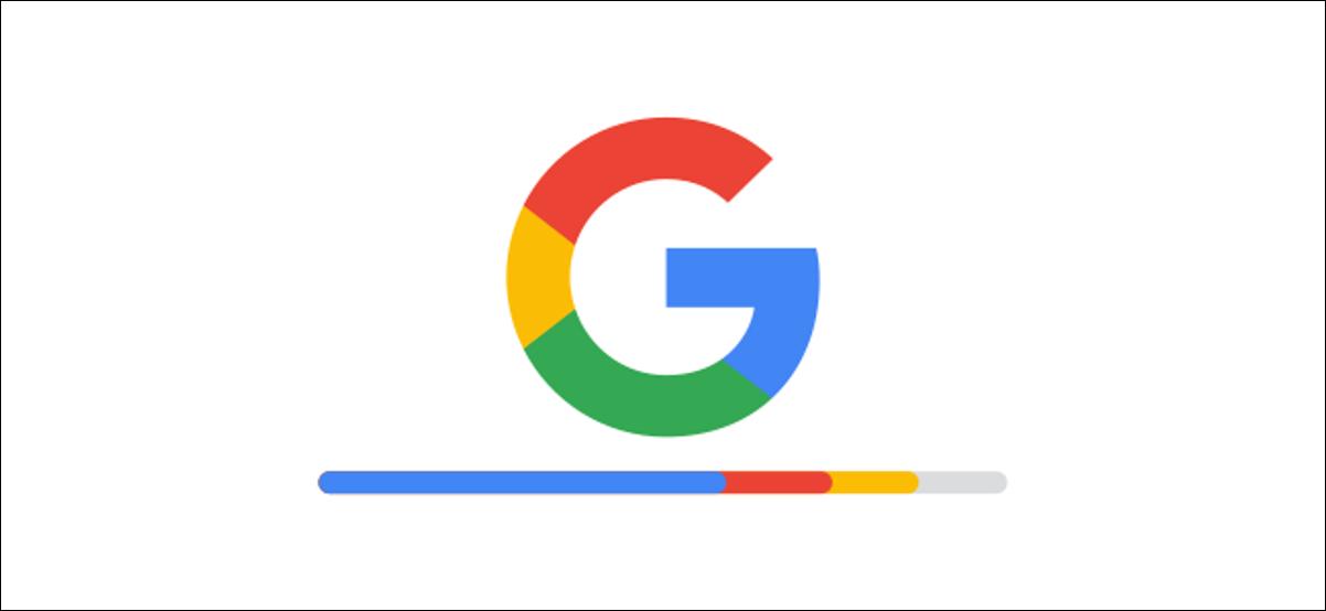 logotipo de google con barra de almacenamiento