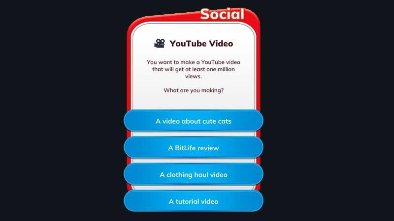 Cómo convertirse en un Youtuber en BitLife