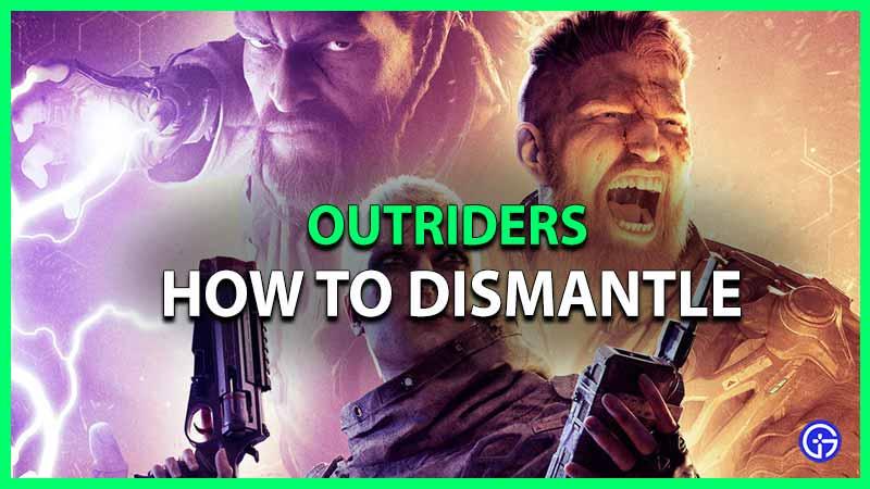 cómo desmantelar armas armaduras escoltas