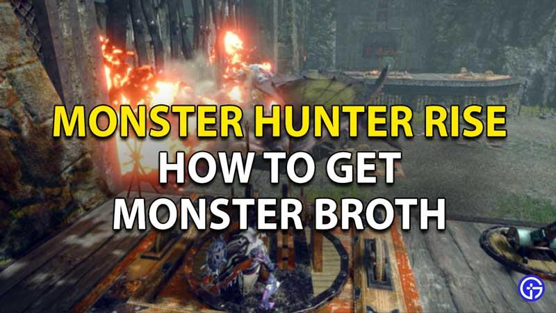 Monster Hunter Rise Caldo de monstruo