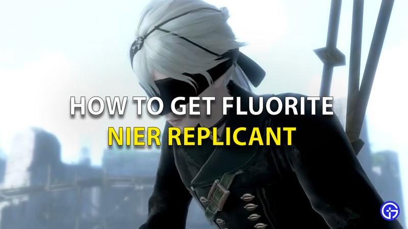Ubicación de la fluorita replicante de Nier