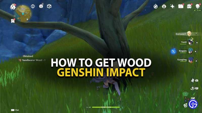 Guía de madera de impacto Genshin