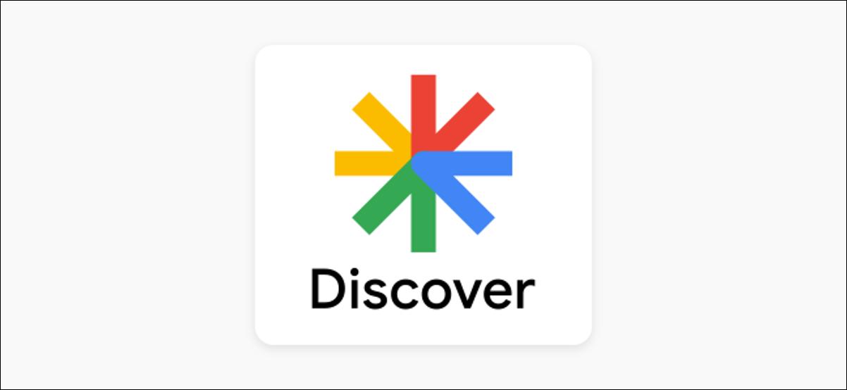 logotipo de google discover