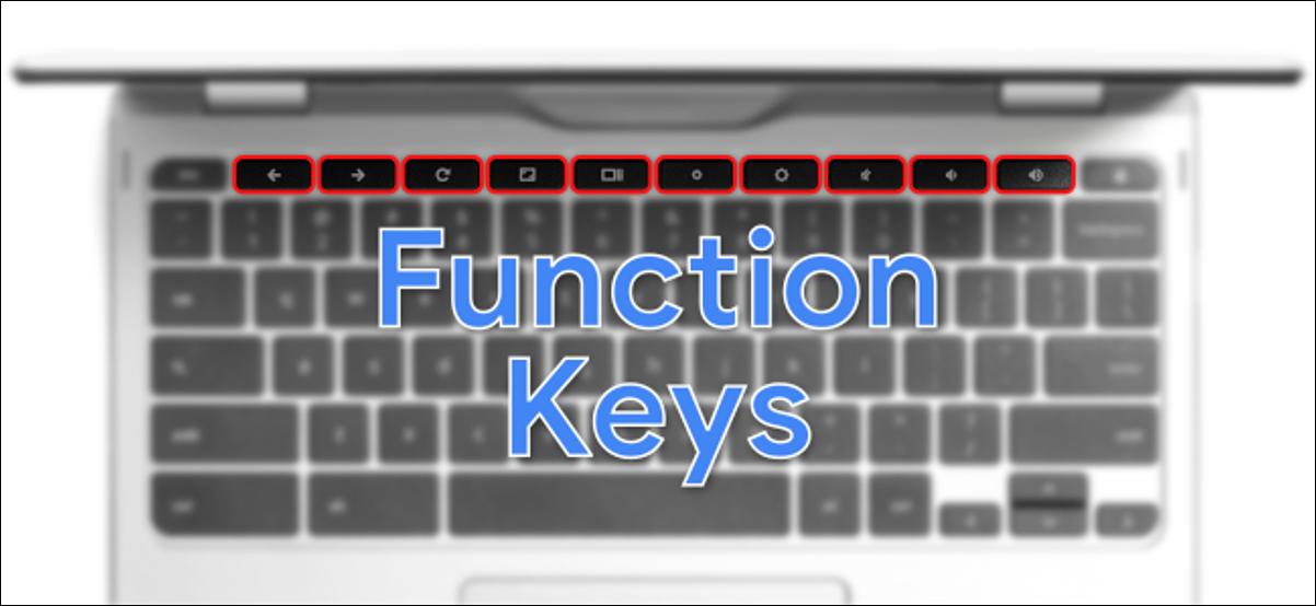 teclas de función de Chromebook