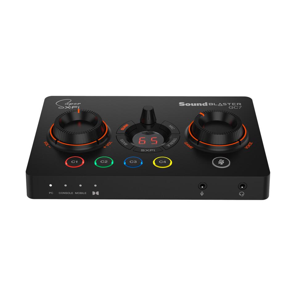 Creative anuncia el amplificador y DAC gamer Sound Blaster GC7