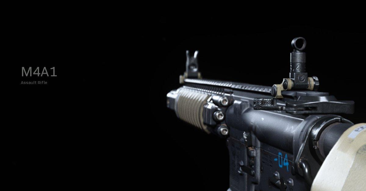 El mejor equipamiento de M4A1 en Call of Duty: Warzone Season 2