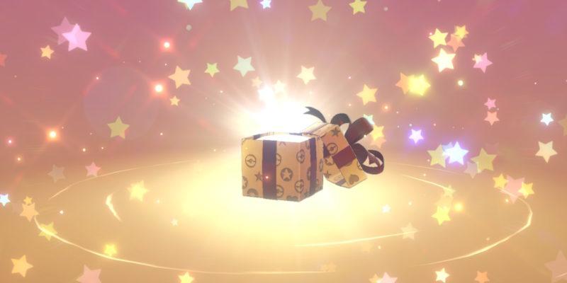 Regalo misterioso de Pokémon