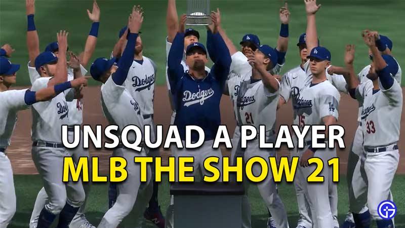 MLB The Show 21: Cómo desarmar a los jugadores