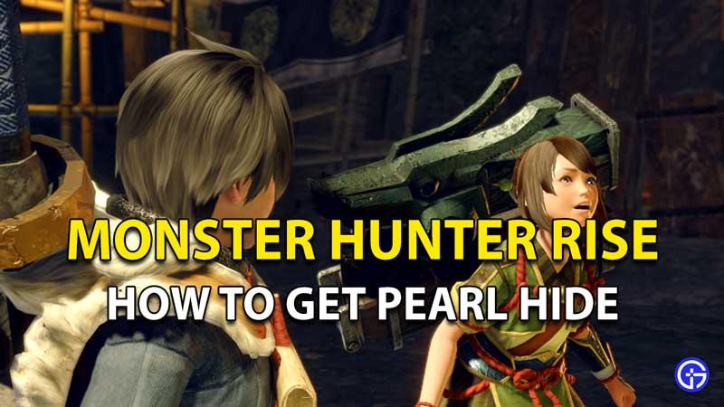 Monster Hunter Rise Piel de perla