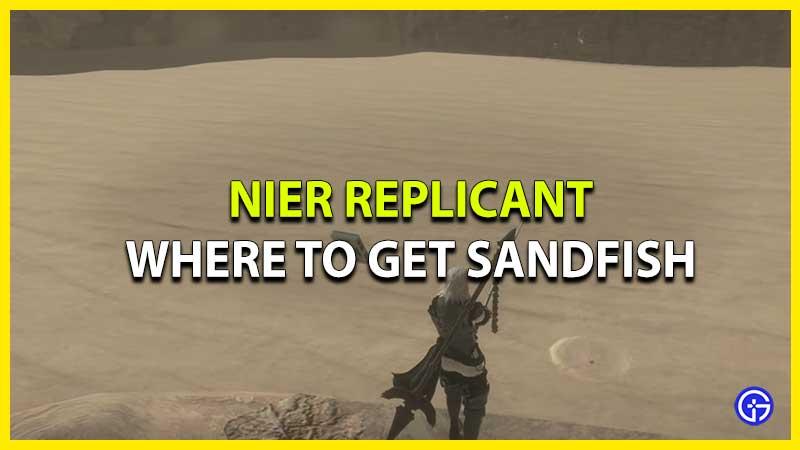 Cómo conseguir peces de arena en el replicante de Nier