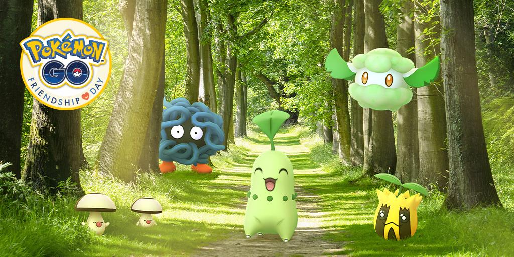 Pokémon GO anuncia el evento del Día de la Amistad a finales de abril
