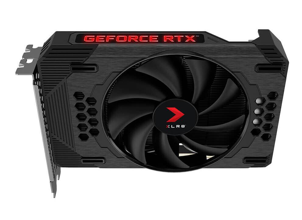 Salida PNY XLR8 GeForce RTX 3060 REVEL EPIC-X RGB Tarjeta gráfica Single Fan Edition