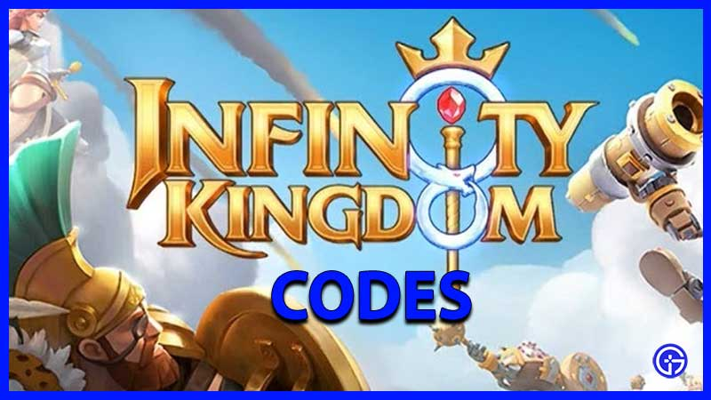 Códigos del Reino Infinito