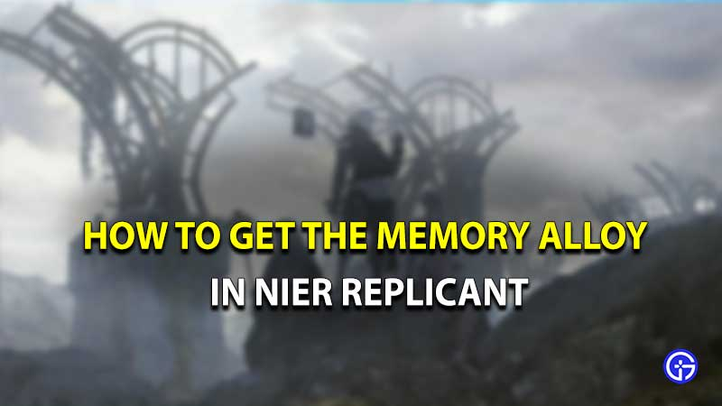 Aleación de memoria replicante de Nier