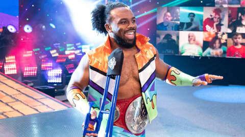 Wrestlemania 37: Xavier Woods de WWE no puede dejar de hablar basura sobre Omos y AJ Styles