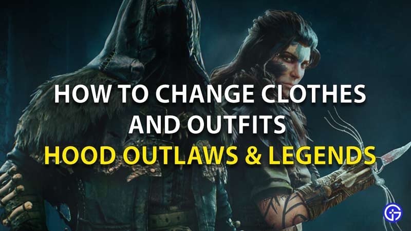 Cómo cambiarse la ropa y el atuendo con capucha