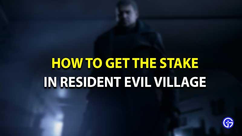 Estaca de Resident Evil Village