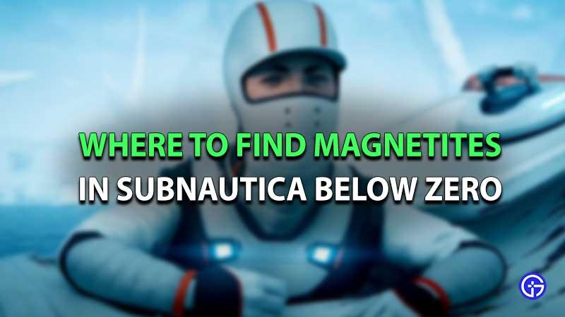 Magnetitas Subnautica por debajo de cero