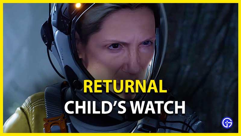 Reloj de retorno para niños