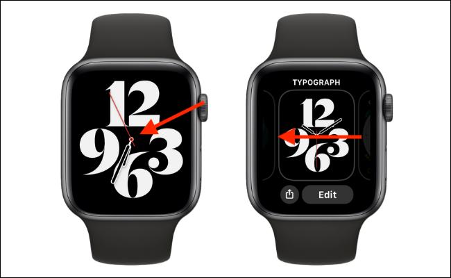 Ir a Watch Face Browser en Apple Watch