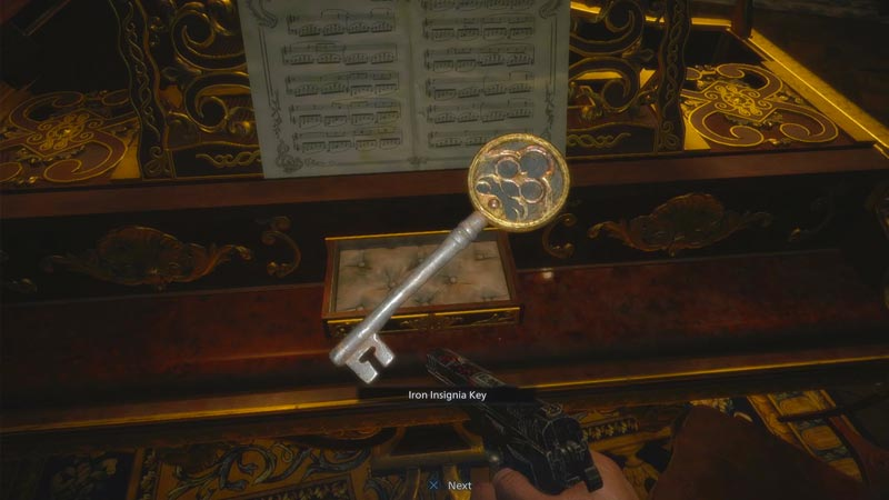 Resident Evil Village encuentra consigue Insignia Key