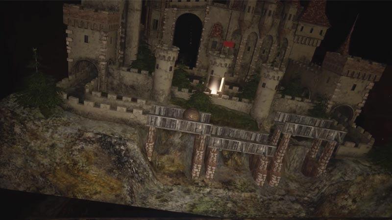 Flower Swords Ball Labyrinth Puzzle Resident Evil Village
