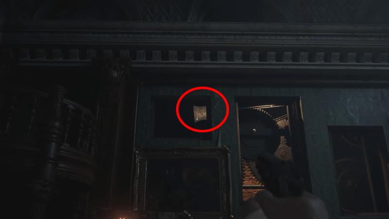 Tercera habitación Bell Atelier Resident Evil Village