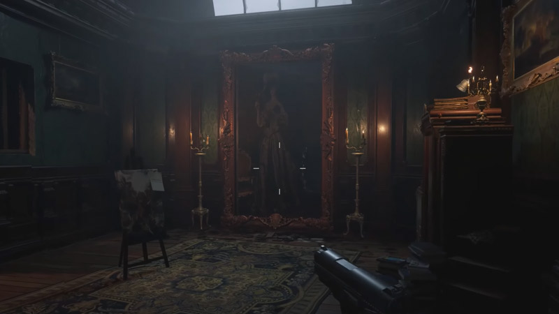 Habitación Atelier Resident Evil Village