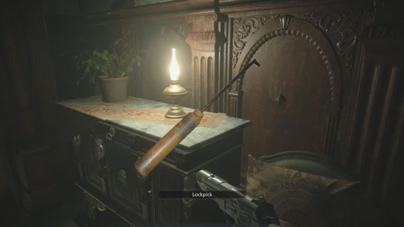 Cómo abrir cerraduras en Resident Evil Village