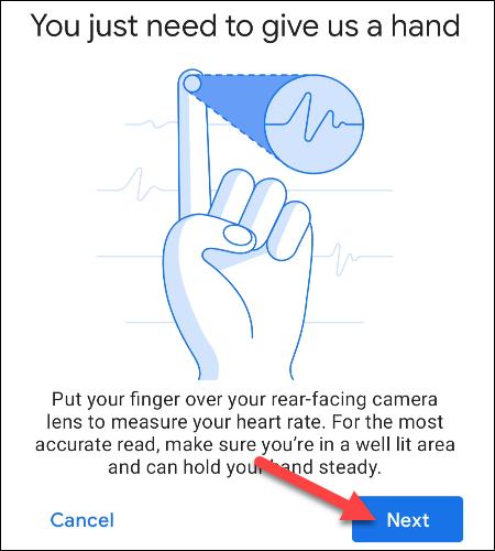 toque al lado para usar el dedo