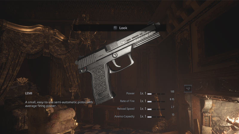 MK23 Socom Mod RE Village Las mejores modificaciones de Resident Evil Village