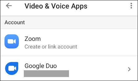 google duo ya está configurado