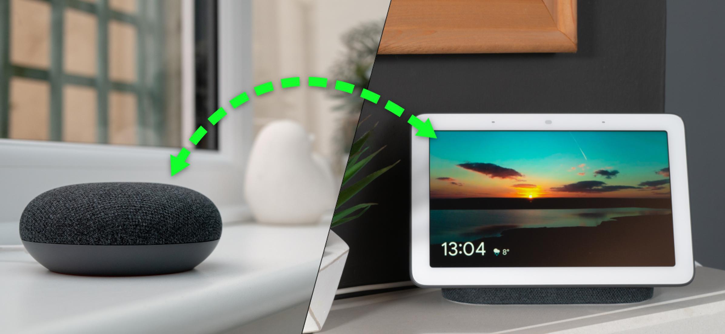 Cómo llamar a los altavoces y pantallas del Asistente de Google en su hogar