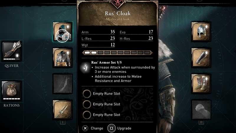 Assassin's Creed Valhalla Wrath of the Druids: Cómo obtener el conjunto de armadura de Rus