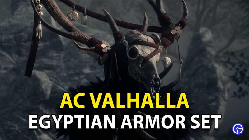 Assassin's Creed Valhalla: Cómo desbloquear el conjunto de armadura egipcia