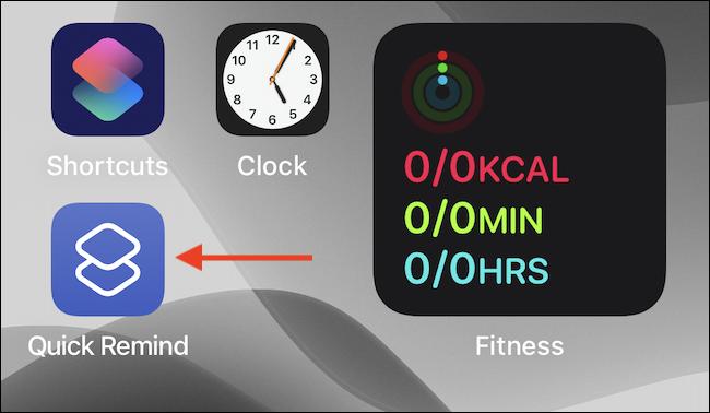 Toque el icono de acceso directo en la pantalla de inicio.
