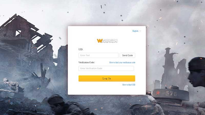 Cómo canjear códigos de regalo de Warpath
