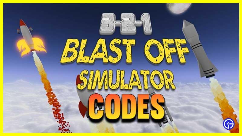 Códigos de puertas secretas de Blast Off Simulator