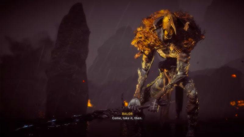 Assassins Creed Valhalla La ira de los druidas Balor Boss Fight