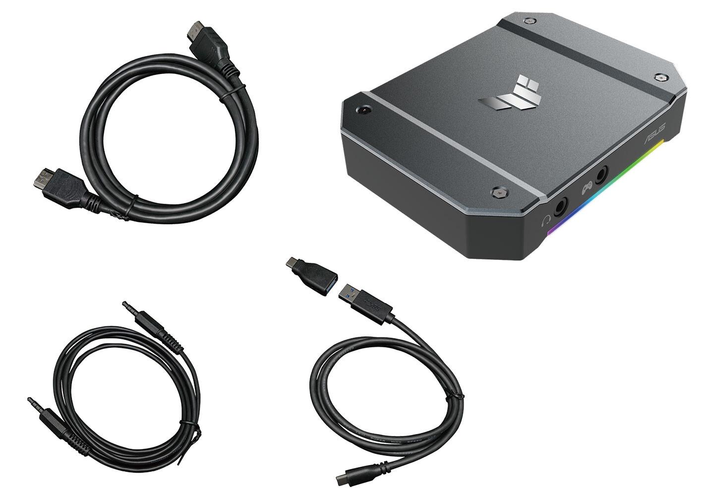 ASUS lanza TUF Gaming Capture Box CU4K30
