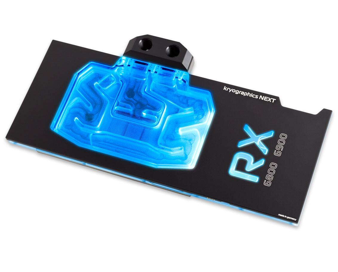 Aqua Computer presenta los bloques de agua y placas posteriores Kryographics Radeon RX 6800/6900 Series