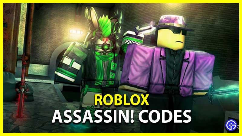 ¡Asesino de los códigos de Roblox!