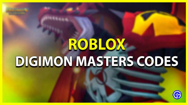 Códigos Digimon Masters Roblox