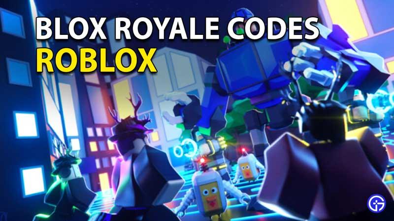 Canjear códigos Roblox Blox Royale